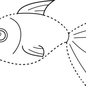 Fun Fish Connect Dots for Kids