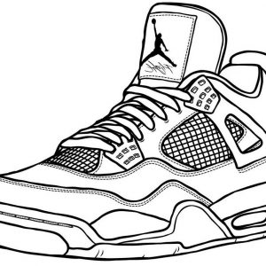 New Release Air Jordan Lineart