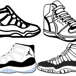 exclussive air jordan sneakers basketball men and women shoes line art to produce jordan brand