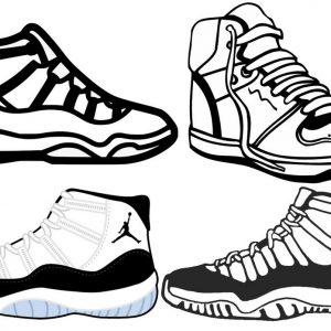 exclussive air jordan sneakers basketball men and women shoes line art to produce jordan brand