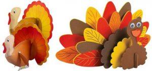 3d turkey craft