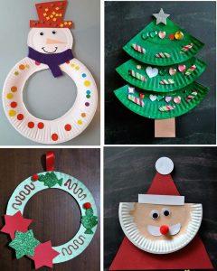 Christmas Paper Plate Idea