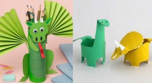Dragon Toilet Paper Roll Craft