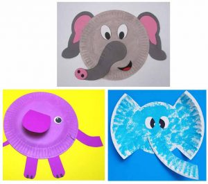 Elephant Paper Plate Ideas