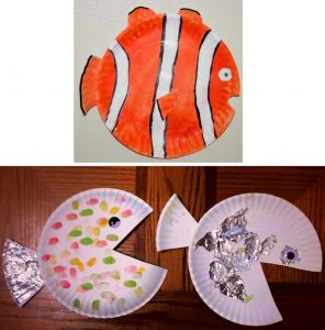 Fish Paper Plate Craft