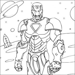 5 Budget Friendly Iron Man Coloring Pages For Kids Mitraland