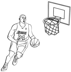 top ten basketball coloring pages for and teenagers