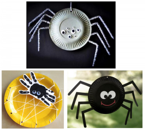 Paper Plate Project Spider