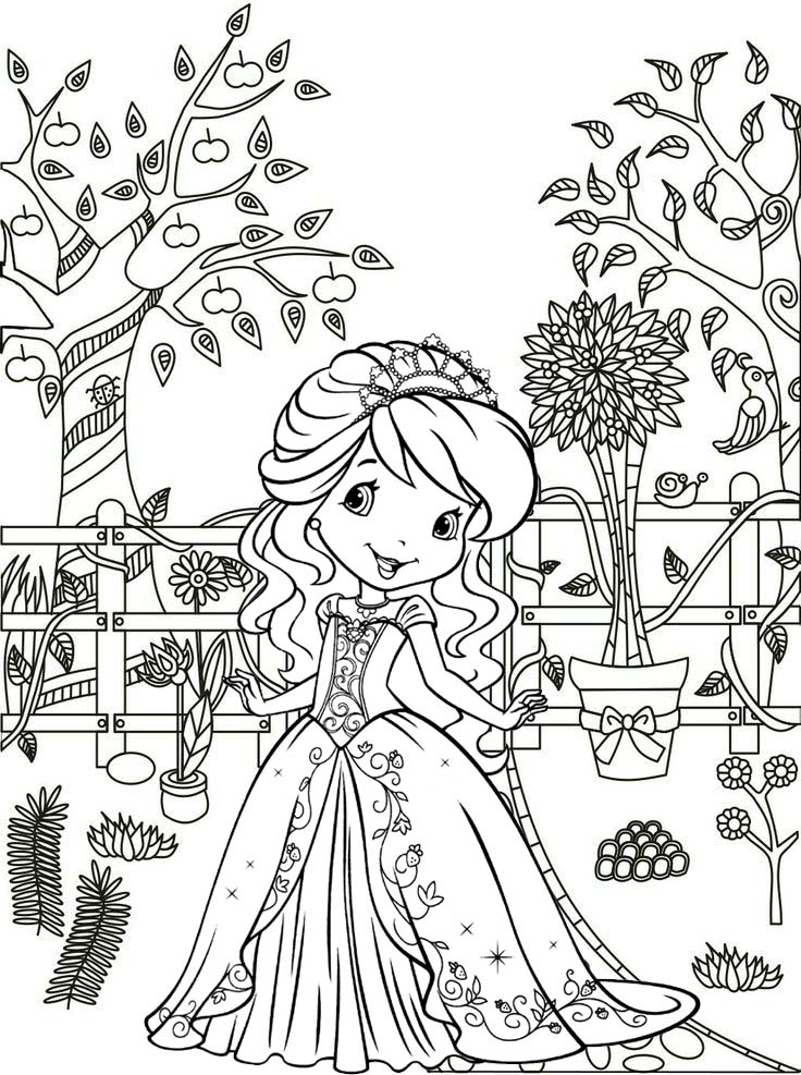 - 30 Minute Fun Strawberry Shortcake Coloring Pages For Little Girls -  Mitraland