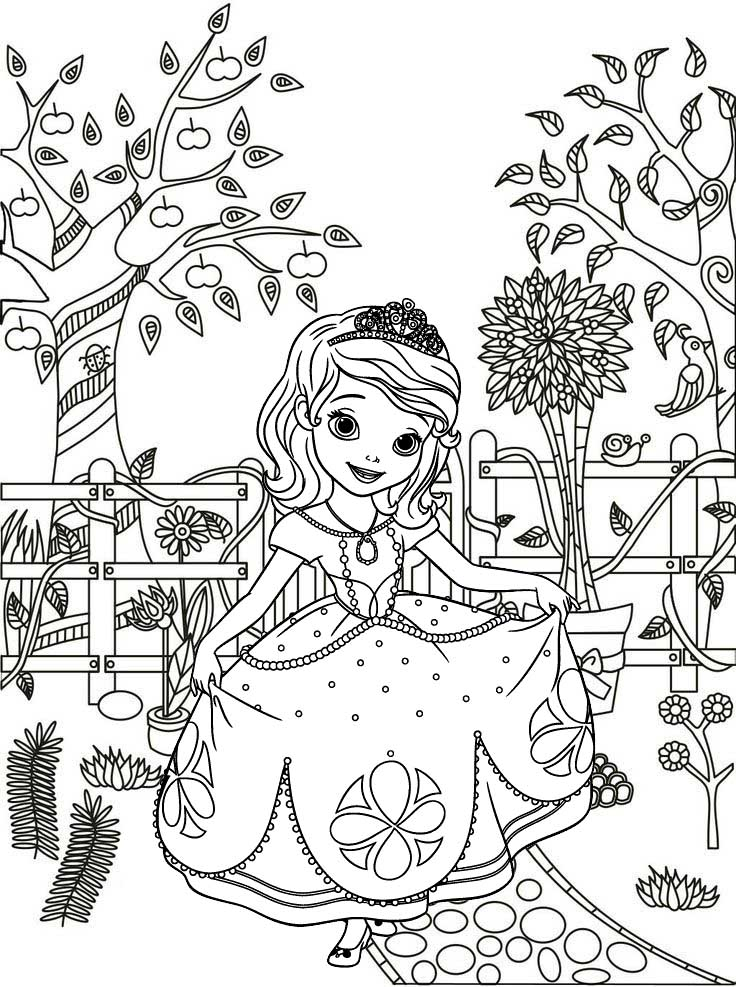 Princess Sofia The First Coloring Pages Tag: 32 Sofia The First Coloring  Book Image Ideas. Sofia The First Coloring Games. 29 Stunning Sofia The First  Coloring. | 987x736