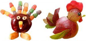 apple turkey craft
