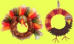 thanksgiving wreath craft