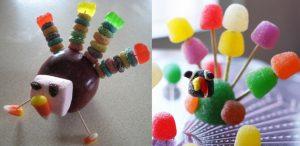 turkey candy crafts