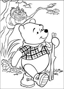 Super Cool Winnie the Pooh Coloring Sheet for Kids