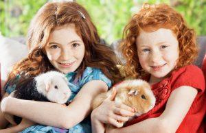 Animal loving kids