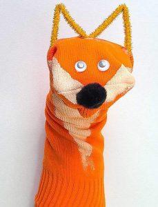 Best Fox Sock Puppet Craft Idea