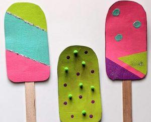 Cardboard Ice Cream Craft