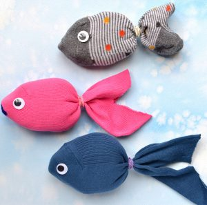 Cute Puppet of Fish From Sock