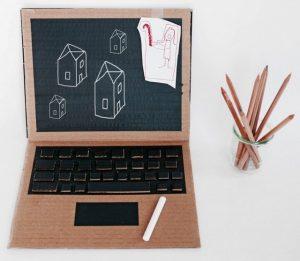 DIY Cardboard Notebook