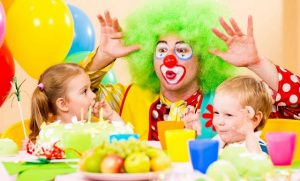 Funny Clowns for Kids Entertainment in Parties