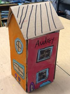 Unique Cardboard Home Craft