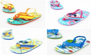 Water Shoes with Back Strap for Kids